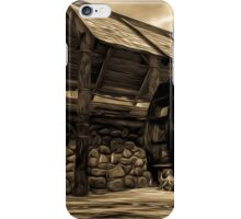 The Ancient Watermill iPhone Case/Skin