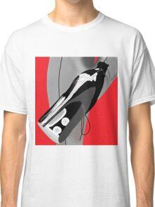 Black heels grey stockings Classic T-Shirt