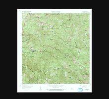 USGS TOPO Map Puerto Rico PR Maricao 362153 1960 20000 Unisex T-Shirt