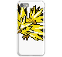 Zapdos Retro iPhone Case/Skin