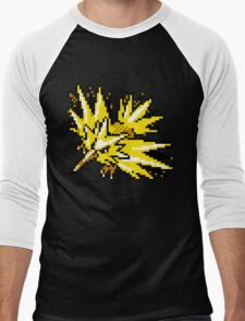 Zapdos Retro Men's Baseball ¾ T-Shirt