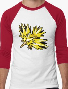 Zapdos Retro Men's Baseball ¾ T-Shirt
