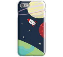 Cartoon Space iPhone Case/Skin