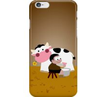 Milking Boy iPhone Case/Skin