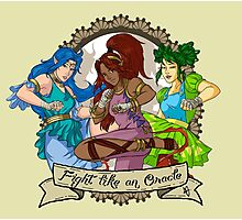 Fight Like An Oracle Photographic Print