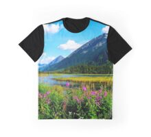 God's Country - Summer in Alaska Graphic T-Shirt