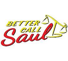 Better Call Saul LOGO Photographic Print
