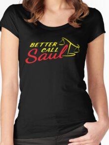 Better Call Saul LOGO Women's Fitted Scoop T-Shirt