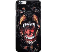 givenchy dog logo iPhone Case/Skin