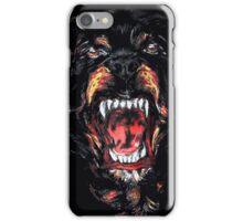 givenchy dog logo iPhone Case/Skin