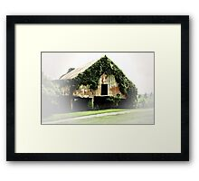 """Chia Barn""... prints and products Framed Print"