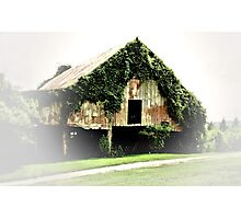 """Chia Barn""... prints and products Photographic Print"