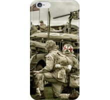 40's WWII Re-enactment iPhone Case/Skin