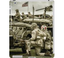 40's WWII Re-enactment iPad Case/Skin