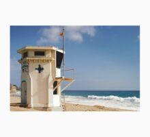 Laguna Beach Lifeguard Tower One Piece - Short Sleeve