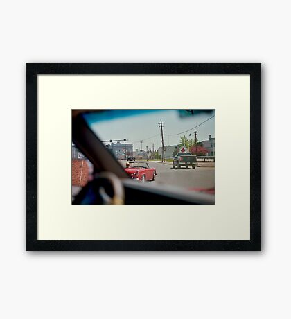 'Sports Car'  Framed Print