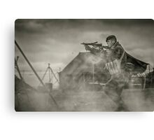 British WWII Soldier Canvas Print
