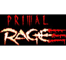 Primal Rage (SNES Title Screen) Photographic Print