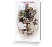 Happy Birthday Gracie Greeting Card