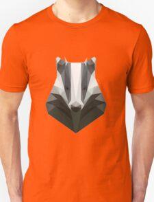 Low Poly Honey Badger T-Shirt