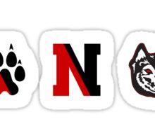 NU logo Sticker