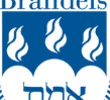 Brandeis logo Sticker