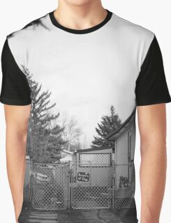 'Beware of Dog Sign' Graphic T-Shirt