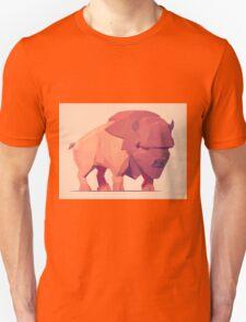 Low Poly Buffalo T-Shirt