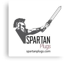 Spartan Plugs Official merchandise Canvas Print