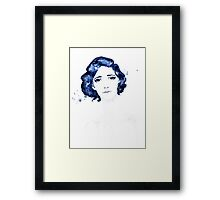 Lost in Her Eyes Framed Print