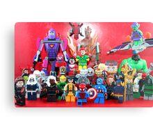 Lego Super Heroes Metal Print
