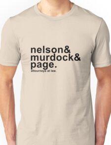Nelson & Murdock & Page Unisex T-Shirt
