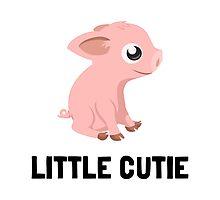 Little Cutie Pig Photographic Print