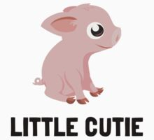Little Cutie Pig Kids Tee