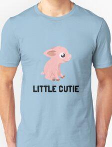 Little Cutie Pig Unisex T-Shirt