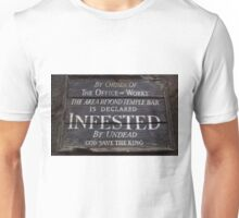 Infested Notice Unisex T-Shirt