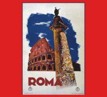 Vintage Roma Rome Italian travel Kids Tee