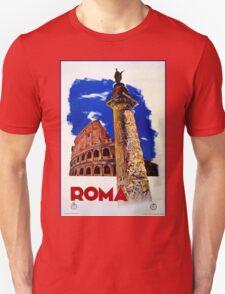Vintage Roma Rome Italian travel Unisex T-Shirt