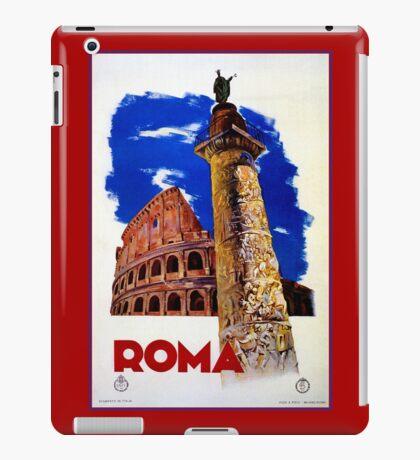 Vintage Roma Rome Italian travel iPad Case/Skin
