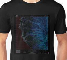 USGS TOPO Map Hawaii HI Lahaina 349517 1992 24000 Inverted Unisex T-Shirt