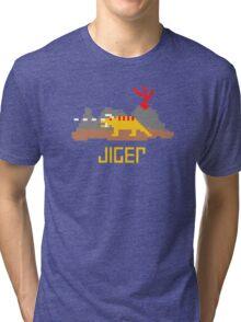 Jiger Pixel Tri-blend T-Shirt