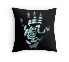 Tiger Hand Throw Pillow