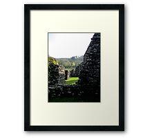 Walls of Serenity Framed Print