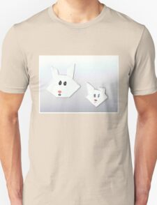 Two Cute Rabbits Unisex T-Shirt