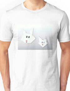Two Cute Rabbits Unisex T-Shirt