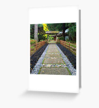 Torii Gate Greeting Card