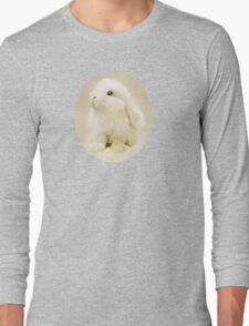 Young White Rabbit Long Sleeve T-Shirt