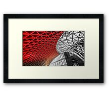 Kings Cross Station Framed Print