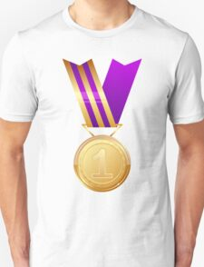 Gold medal number one Unisex T-Shirt