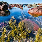 Red Rocks Water World by SeeOneSoul